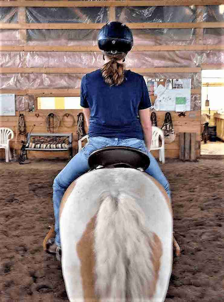 This saddle has made a huge positive difference in our lives