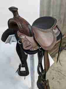 how excited and happy I am with my saddle